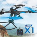 2016 Hot JJRC X1 With Brushless Motor 2.4G 4CH 6-Axle RC Quadcopter RTF MODE2 Left Hand Throttle