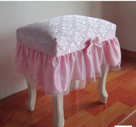 Pastry make up stool stool stool cushion set vanity stool set stool cushion cover dust c ...