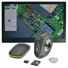 Discount! 1080P HDMI USB Microscope Camera High Speed Industrial Calibrate Camera Digital Calibrator Measurement for Research