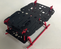 UAV Accessories LingFei QAV250 250mm 4 Axis Mixed Carbon Fiber CF Quadcopter Frame with Landing Gear for FPV(Arm thickness: 3mm)