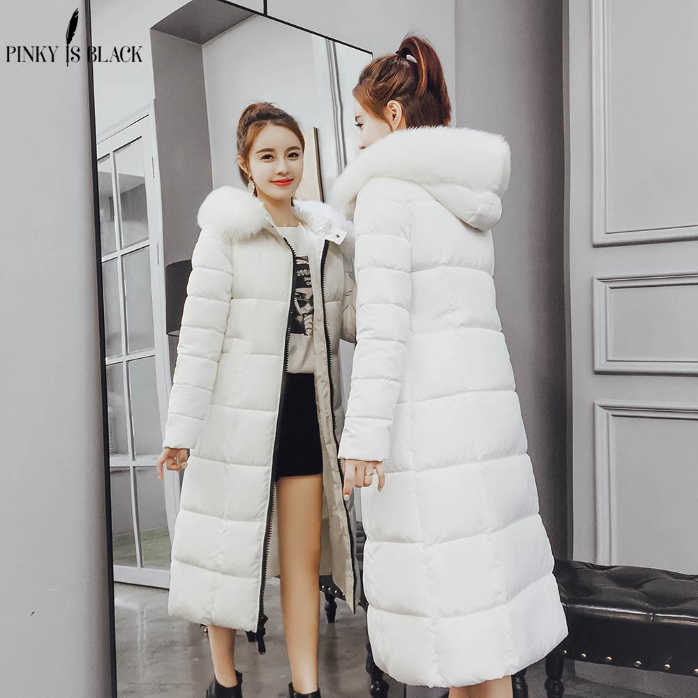 Pinkyisblack 2018 Winter Jacket Women Outerwear Cotton Padded Jacket