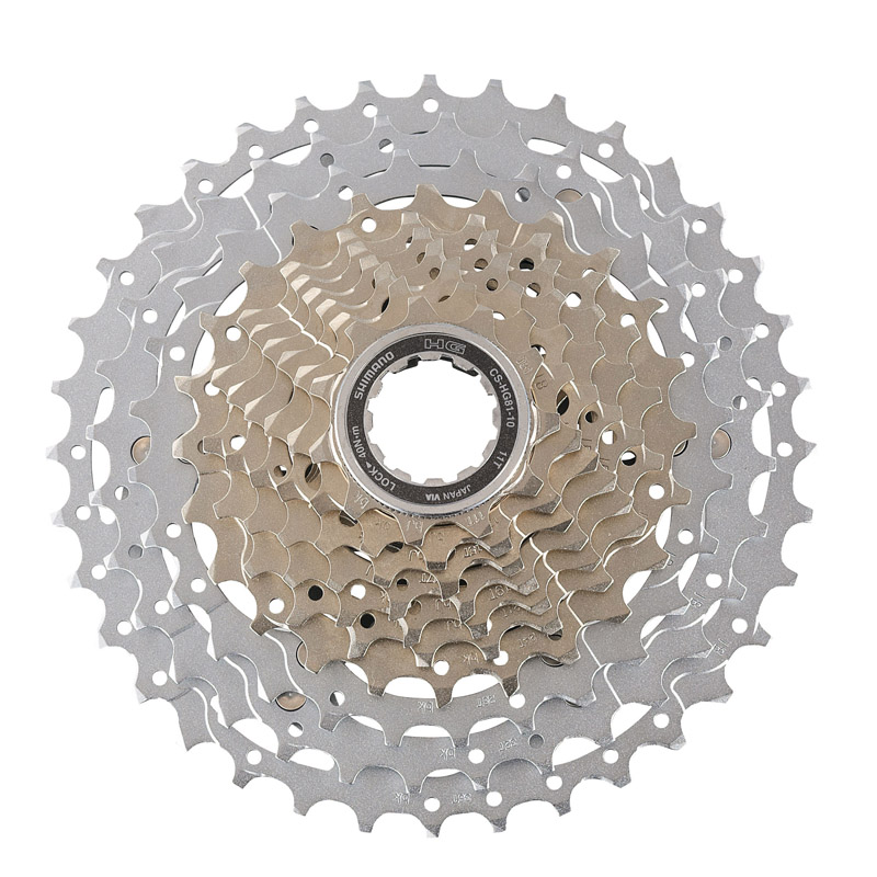 SHIMANO CS HG81-10 SLX Cassette Free Wheel Bicycle Derailleur System MTB Mountain Bike Accessory Component PARTS