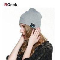 Fashion Beanie Hat Cap Wireless Bluetooth Earphone Smart Headset Headphone Speaker Mic Winter Outdoor Sport Stereo
