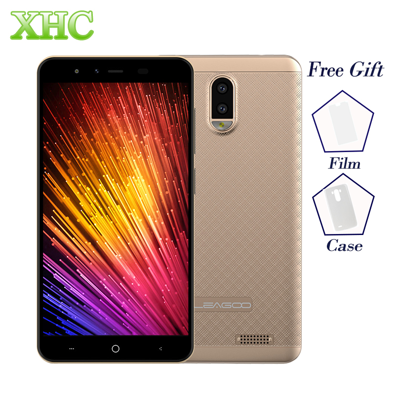 "LTE 4G LEAGOO Z7 5.0"" Smartphone Android 7.0 Quad Core 3000mAh 1GB RAM 8GB ROM Dual Rear Camera Dual SIM GPS WIFI Mobile Phone"