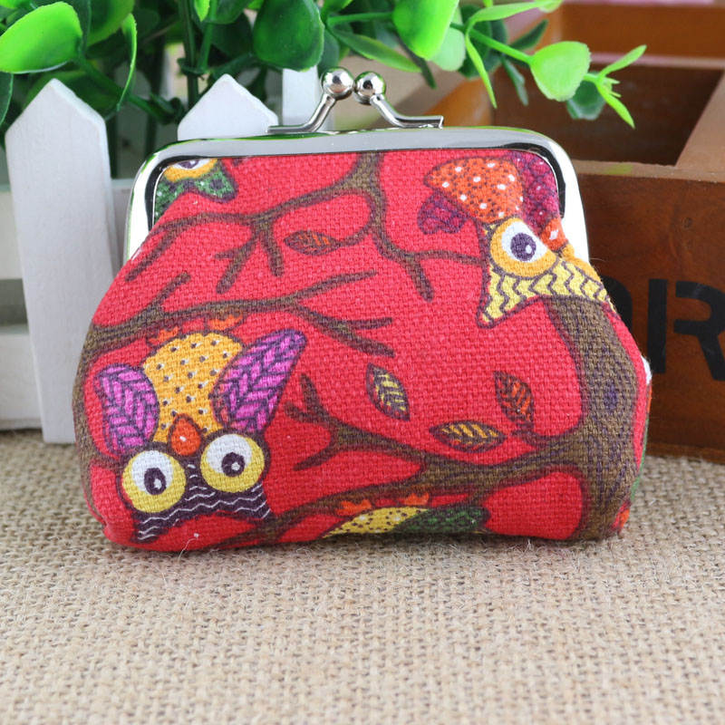 Aelicy Famous Designer Brand Wallet Women Wallet Lovely Style Womens Wallets Lady Small Wallets Hasp Owl Purse Clutch Bag