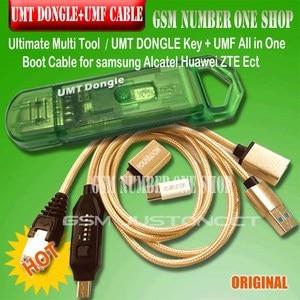 Image 2 - חדש מקורי UMT Dongle UMT מפתח + umf כל אחד אתחול כבל עבור סמסונג Huawei LG ZTE תוכנת אלקטל תיקון ופותח