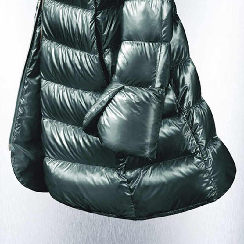 Skinnwille Autunno/inverno 2018 collezione di Alta-end personalizzato Imbottiture vestito giacca con spessore lungo in Europa e il stati Uniti