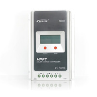 MPPT 40A 4210A Solar Şarj Kontrolörü 12 V/24 V Otomatik Dönüşüm LCD Ekran Max 100 V Regülatörü PC iletişim Cep