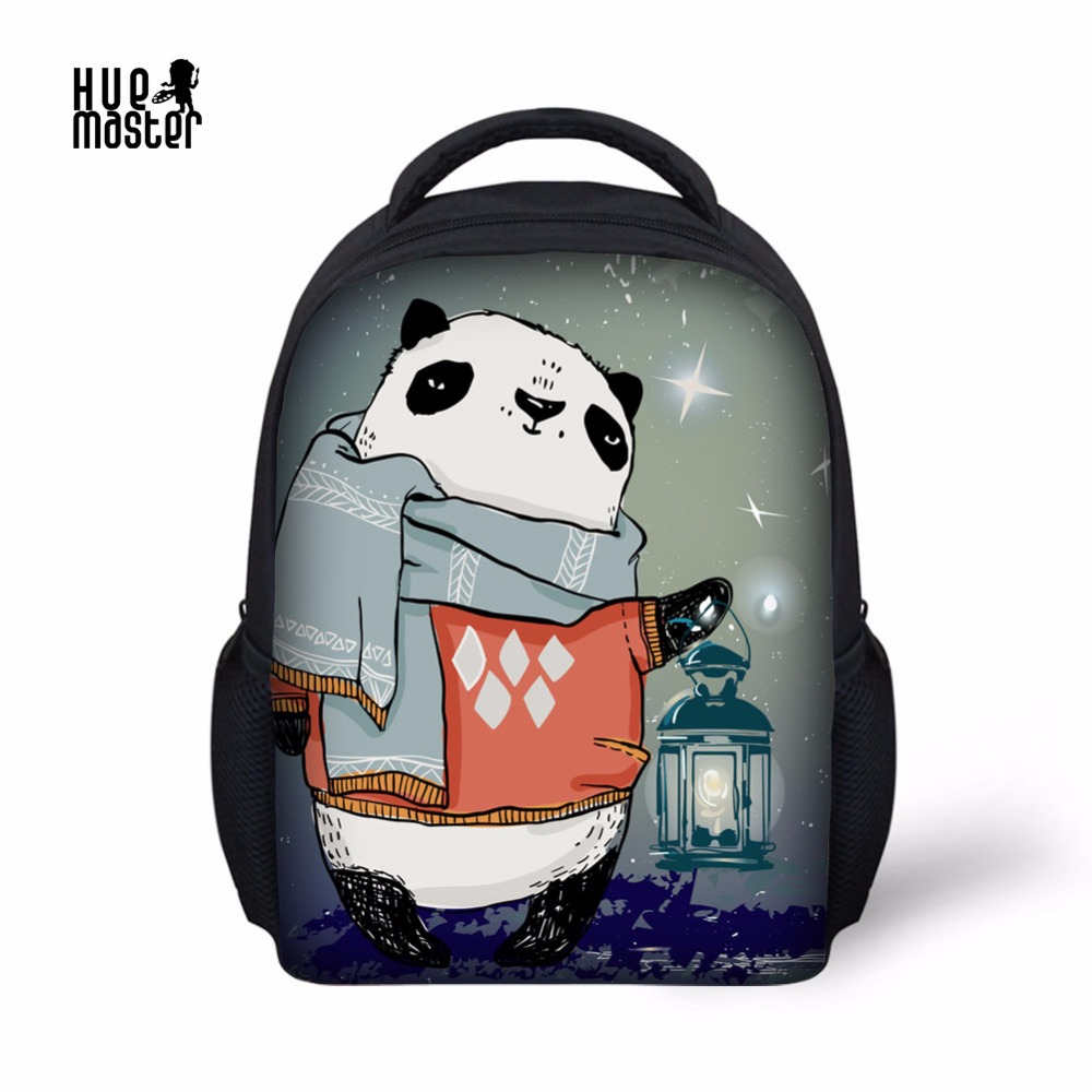 HUEMASTER Kids School Bag Kindergarten Small Daypack Cartoon Bear Printing Backpack Kids Mochila Infantil Children Knapsack