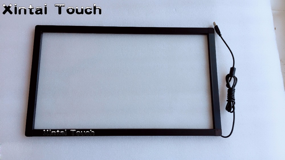 Xintai Touch Free Shipping! 5PCS 20 IR touch screen, multi 2 points infrared touch screen, IR touch frame new type 19 inch 5 4 4 3 infrared ir touch screen ir touch frame overlay 2 touch points plug and works