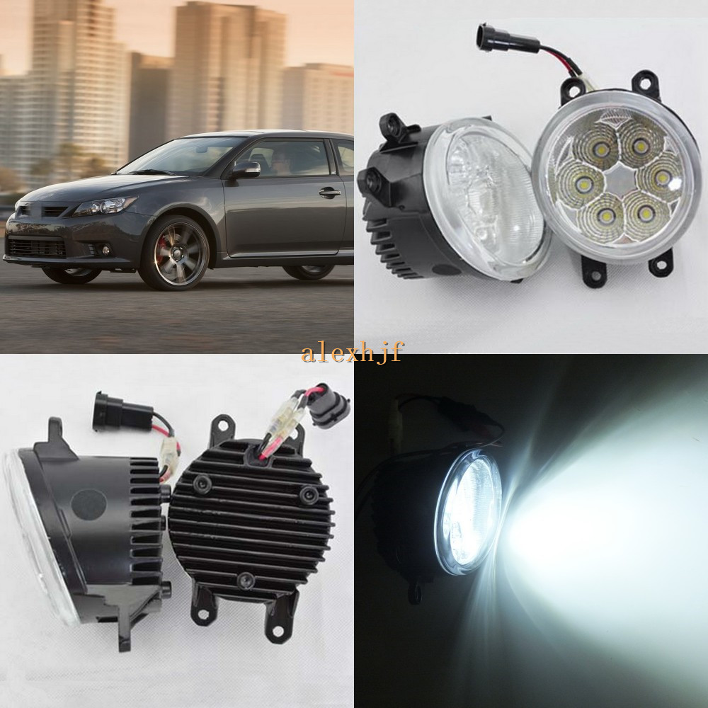 July King 18W 6500K 6LEDs LED Daytime Running Lights LED Fog Lamp case for Scion tC 2011-2013, over 1260LM/pc купить