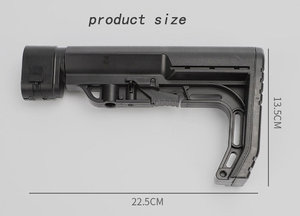Image 3 - Tactical CS0911 Extensible Back Stock Parts Airsoft Hunting Gel Water Bomb Adjustable Toy Gun Rear Butt Accessories
