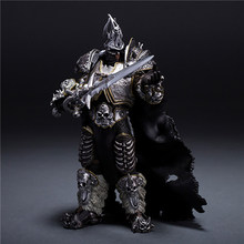 wow Lich King Arthas Death Knight PVC Action Figure Collectible Model Toy(China)