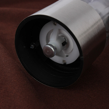 High quality Electric Stainless Steel Electric Salt Pepper Mill Spice Grinder Muller Kitchen Tool