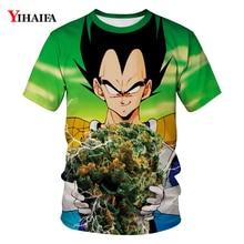 T Shirt Men Funny Vegeta  Dragon Ball Z T-shirt Goku 3D Print T-shirts Mens Womens Casual Tees Unisex Tops Streetwear