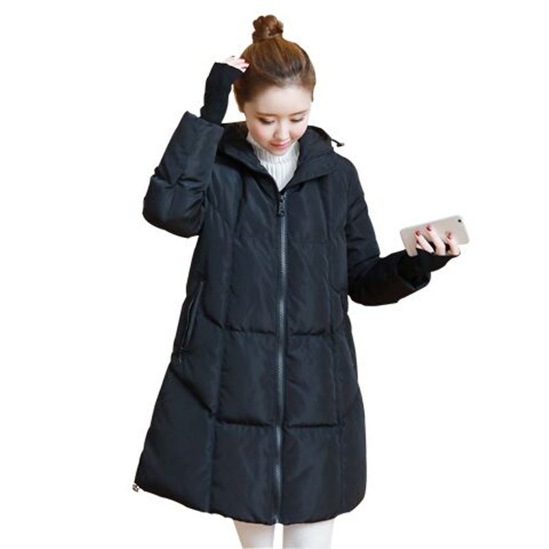 Plus Size 3XL Women Jackets And Coats Hooded Thicken Long Parka Manteau Femme Hiver Winter Coat Women Cotton Jacket Women C3818 tuhao lady down cotton pure color manteau femme hiver thick warm jackets 2017 new autumn winter women hooded long coats lw20