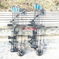 Составный шкив лук и комплекты стрел 30 70 фунтов Регулируемый лук охота на открытом воздухе Охота стрельба