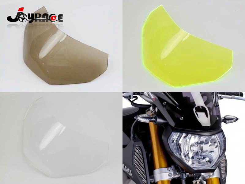Areyourshop Front Headlight Guard Cover Lens Protector For Yamaha MT-09 FZ-09 2013-2016