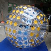Zorb 3 м диаметр людской мяч 0,8 мм ПВХ материал игры на открытом воздухе интерактивная игра надувные Зорб мяч для продажи