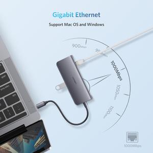 Image 4 - UGREEN USB HUB C HUB HDMI Adapter 10 in 1 USB C to USB 3.0 Dock for MacBook Pro Accessories USB C Type C 3.1 Splitter USB C HUB