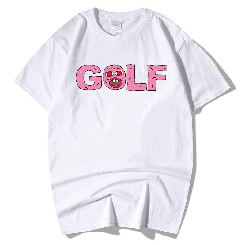 9e40d0b54039df Tyler The Creator Golf T Shirt Men EARL Odd Future Cherry Bomb Wolf Gang  Male Battery