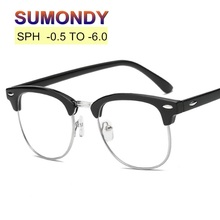 SUMONDY SPH -0.5 -1 to -4.5 -5 -5.5 -6 Prescription Glasses