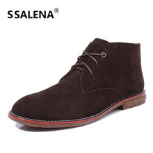 Men Casual Leather Winter Ankle Boots Male Outdoor Lace-Up Solid Colour Warm Boot Men Comfortable Pointed Toe Shoes AA51578