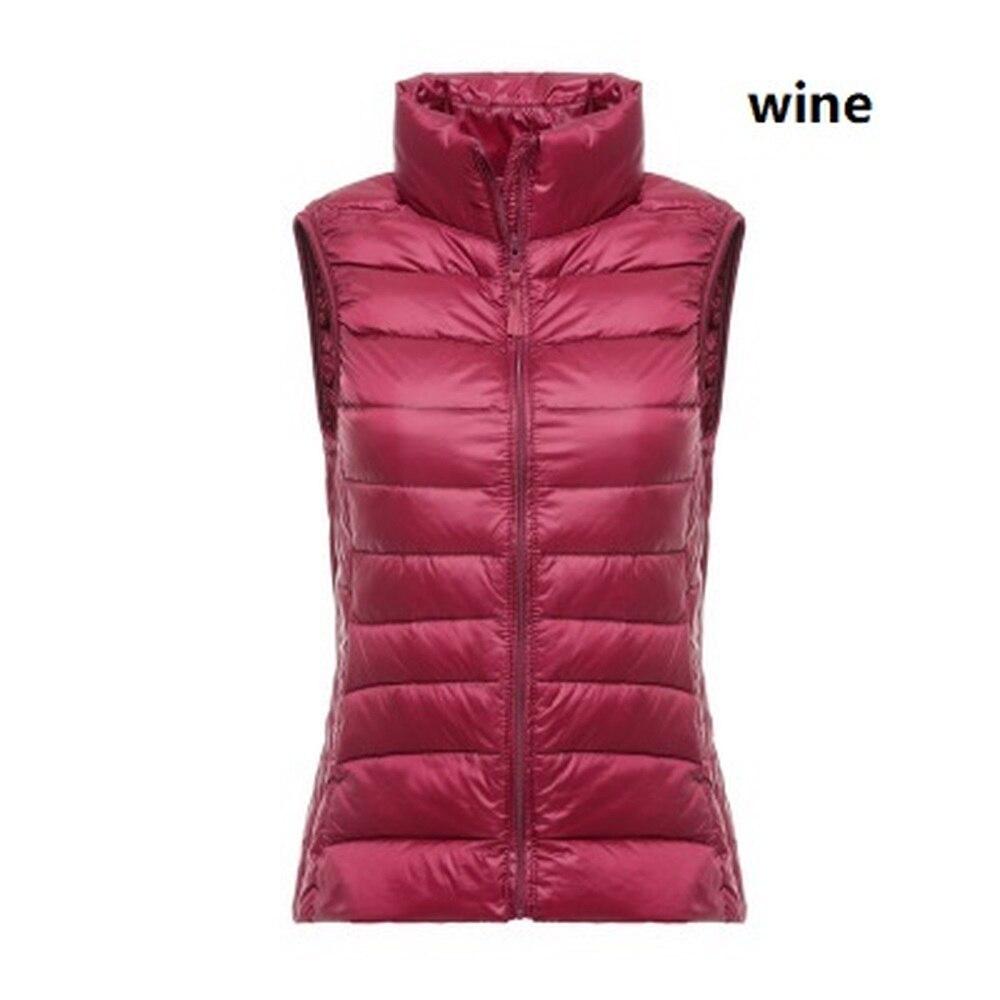 Women   Parka   Vest 2019 Winter Coat Sleeveless Vest Slim Solid Lady Down Jacket Vest Tank Top Warm Clothes Casual Women   Parka   Vest