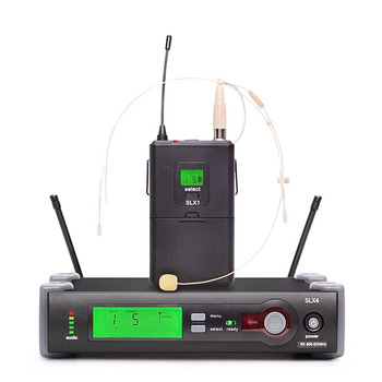 Professional Handheld Wireless Microphone Karaoke UHF Microphone SLX24/Beta58 Headset Mic Top Quality SLX4 SLX2