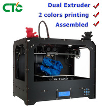 CTC 3D Printer Bizer I Two Nozzel  MultiColor Printing With 1.75mm PLA Filament USA Stock
