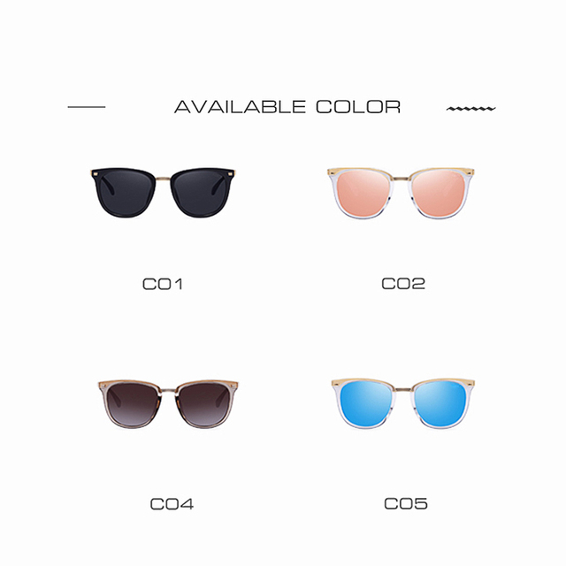 AOFLY Fashion Women's Polarized Sunglasses Vintage  Women Brand Designer Shades Eyewear Accessories Driving Sun Glasses AF7968 4