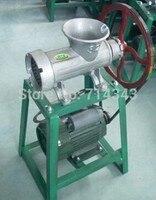 32 Электрический разделенный тип мясорубка, электрическая мясорубка, моторизованная Мясорубка/Колбаса stuffer grinder