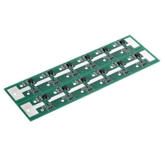 NEW 1PC Six In Series MaxWell 350F 2 7V T11 SuperCapacitor Balance Board  capacitor board