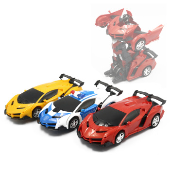 2 In 1 Rc Car 1:18 Sport Models Rc Robots Deformation Radio-controlled Car Bumblebee Remote Control Toy for Children Boys radio-controlled car