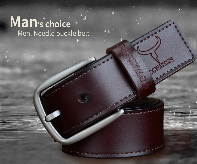 Retro Leather Belt