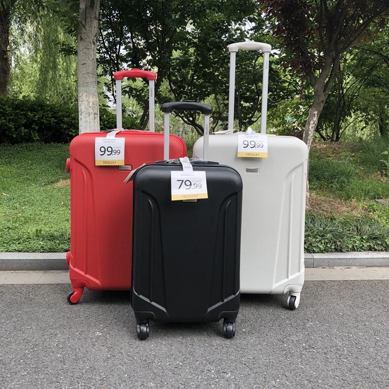 """Opowieść podróży 20 """"24"""" 28 """"cal abs twarda strona rozbudowy wózek na kółkach wózek walizka 3 sztuk bagażu zestaw na kółkach w Zestawy bagażowe od Bagaże i torby na  Grupa 1"""