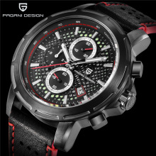 PAGANI Design Mens Watches Fashion Blue Big Dial Waterproof Sport Watch Men Quartz Wrist Relogio Masculino Reloj Hombre