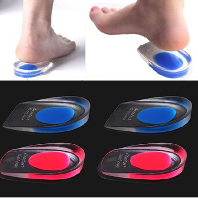 Image result for Silicone Gel Height Insoles Massager for Shoes