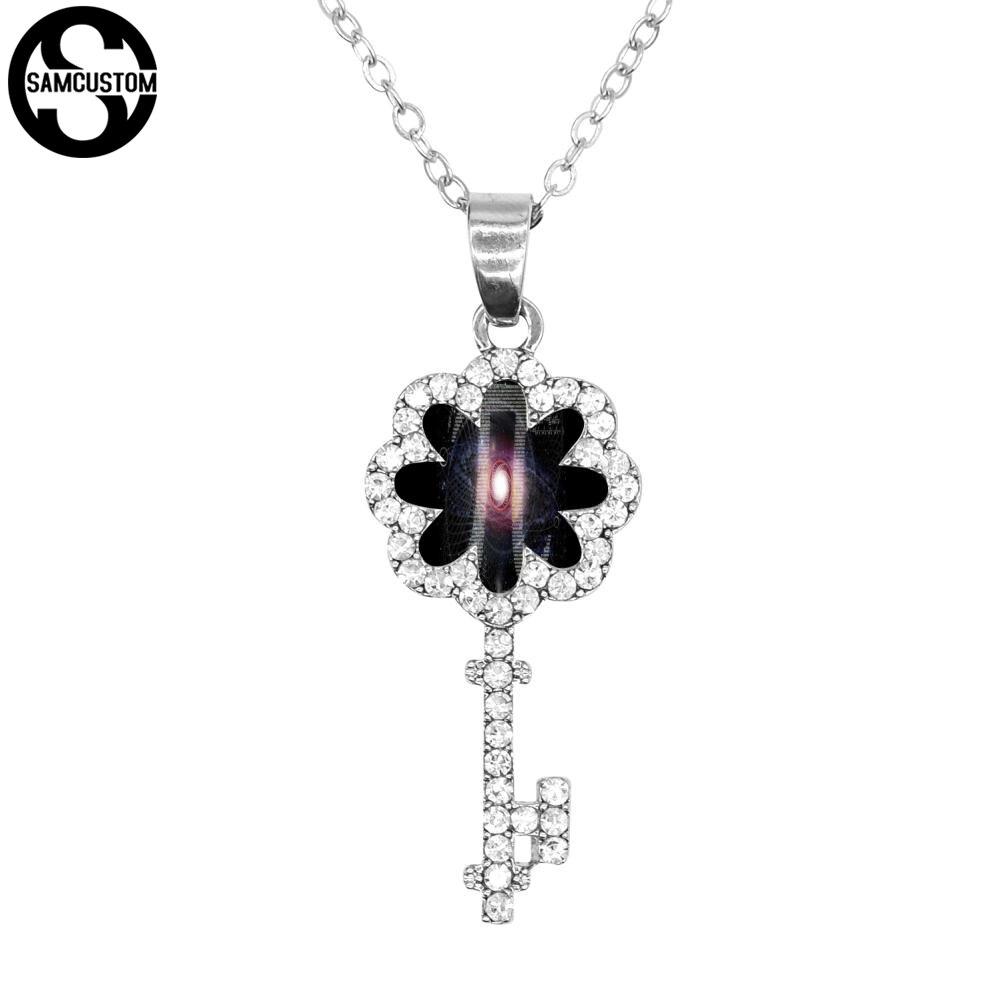 SAMCUSTOM Personality customization Key Necklace Stainless