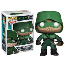 FUNKO POP DC Comics The Arrow 207# brinquedos PVC Action Figure Collection Model toys for Children birthday Gift with Retail Box(China)
