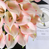 31 Pieces Calla Lily PU Real Touch Decorative Vase Artificial Flower Fake flower lifelike flowers bud Decorating hotel 2