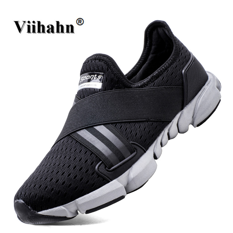 Viihahn Mens Running Shoes Breathable Mesh Trainer Walking Shoes Outdoor Athletic Sport Sneakers for Men Size 40-46
