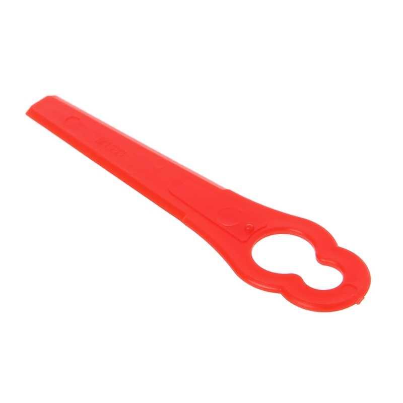10 Pcs Plastic Trimmer Blades Replacement Lawn Mower Garden Grass Cutter Parts