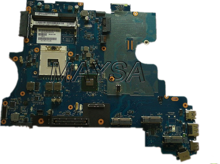 цена на CN-0KFR9H KFR9H LA-7761P Laptop Motherboard Fit For Dell Latitude E6530 15.6Notebook PC mainboard, 100% working