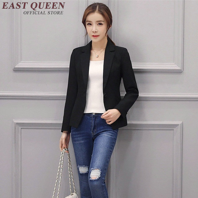 2017 New Women Long Sleeve Jacket Female Office Uniform Designs Business Formal Clothes Suit