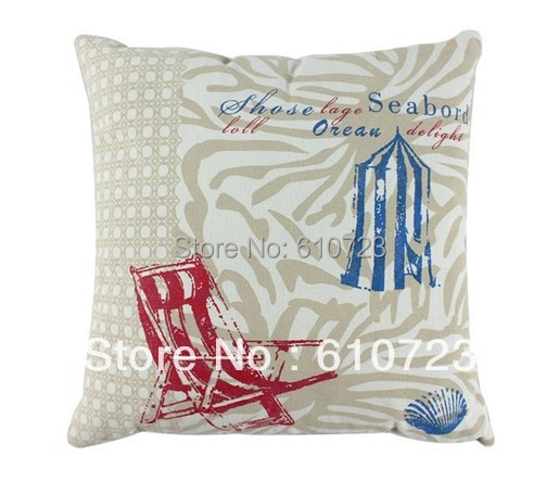 whole sale,Creative home zakka household art high-grade cotton and linen cushion pillow car cushion for leaning on(no core)