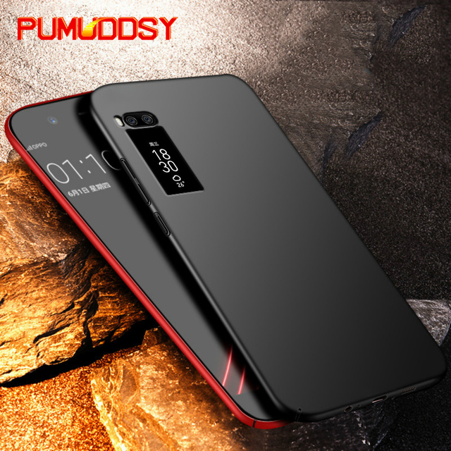 PUMUDDSY PC Full Protective Case For Meizu Pro 7 Case Clear Slim Hard Back Cover For Meizu Pro 7 Plus Shockproof Phone Case