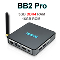 3GB DDR4 RAM 16GB ROM Android 6.0 TV Box Amlogic S912 Octa Core Mini PC 3D Smart Tvbox Wifi Bluetooth 4K 1000M MECOOL BB2 Pro