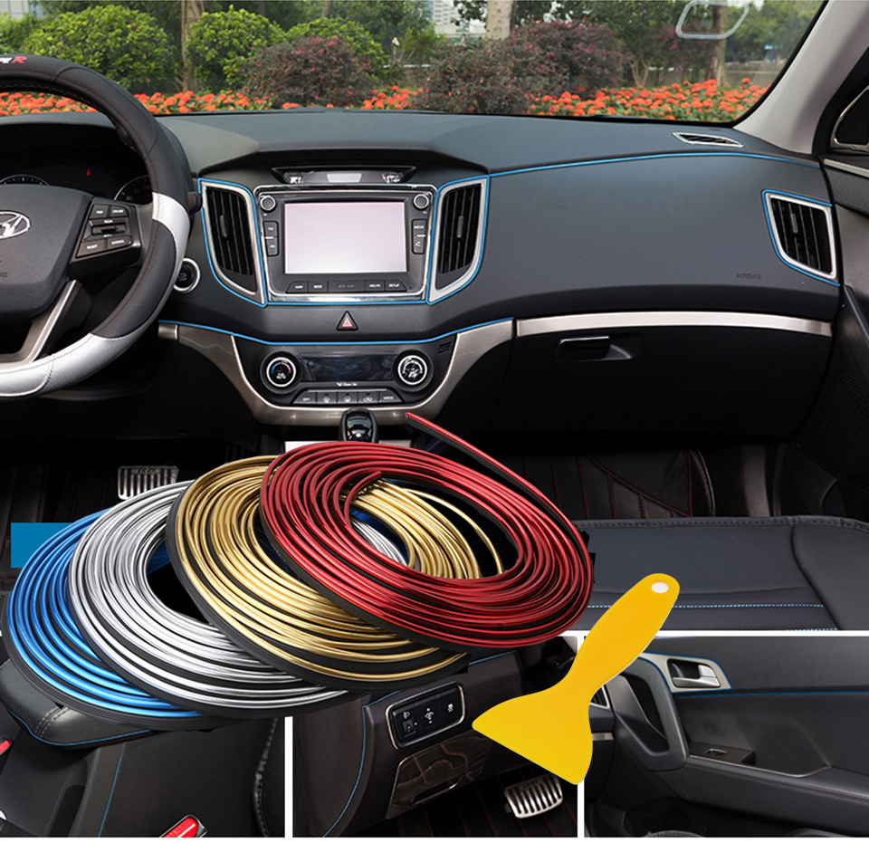 5m refitting accessories car decoration for vw volkswagen for Automobile decoration accessories