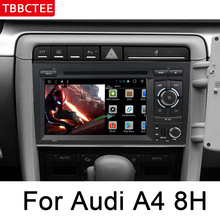 For Audi A4 RS4 8E 8H 2002~2008 MMI HD IPS Screen multimedia player DSP Stereo Android Car DVD GPS Navi Map radio WIFI HD Screen yessun car android player multimedia for toyota fj cruiser radio stereo gps map nav navi navigation no cd dvd 10 hd screen